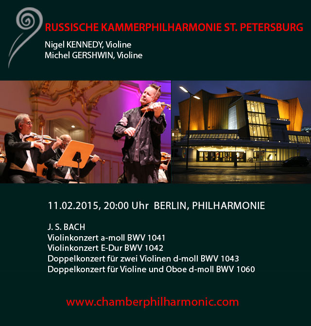 Nigel Kennedy spielt Bach | Konzertfreunde Dresden